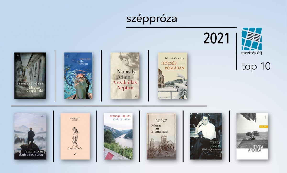 Hír: Merítés-díj 2021 – próza